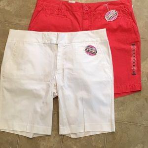 NWT- 2 Pair of OldNavy Bermuda Shorts